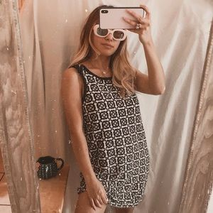 Juicy Couture Abstract Geometrical Shift Dress